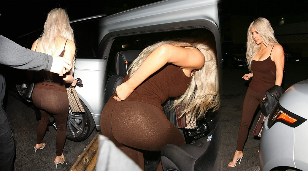 Kim Kardashian - Candids in West Hollywood