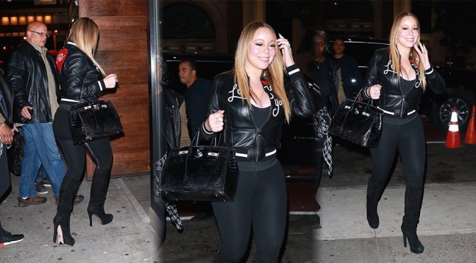 Mariah Carey – Candids in New York