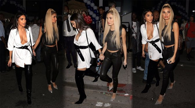 Pia Mia & Chantel Jeffries – Candids in Los Angeles