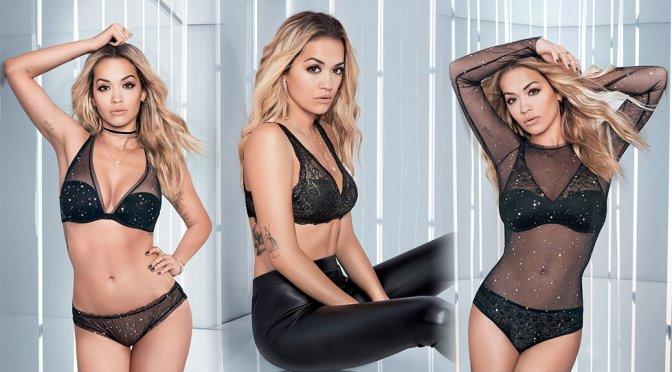 Rita Ora – Tezenis Lingerie Campaign 2017