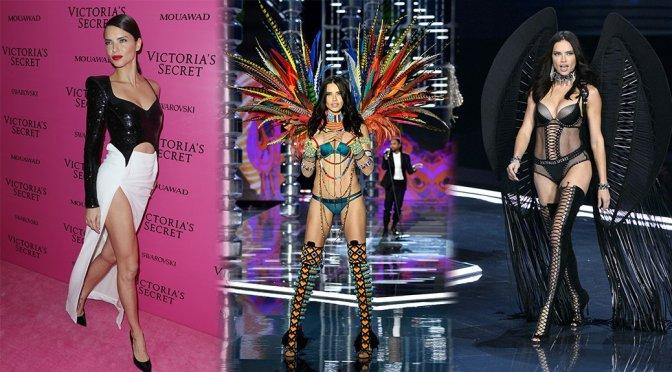 Adriana Lima – 2017 Victoria's Secret Fashion Show in Shanghai