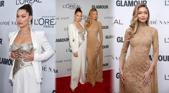 "Bella & Gigi Hadid – ""Glamour"" Women of the Year Summit in New York"