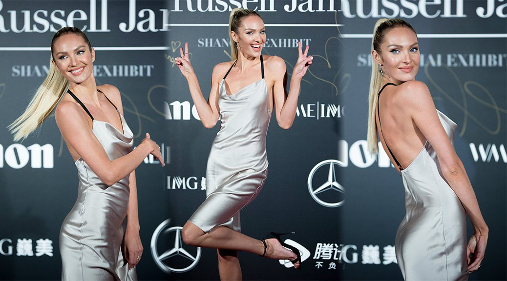 Candice Swanepoel - Russell James Backstage Secrets Book Launch in Shanghai