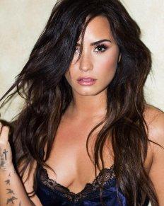 Demi Lovato Boobs Lingerie