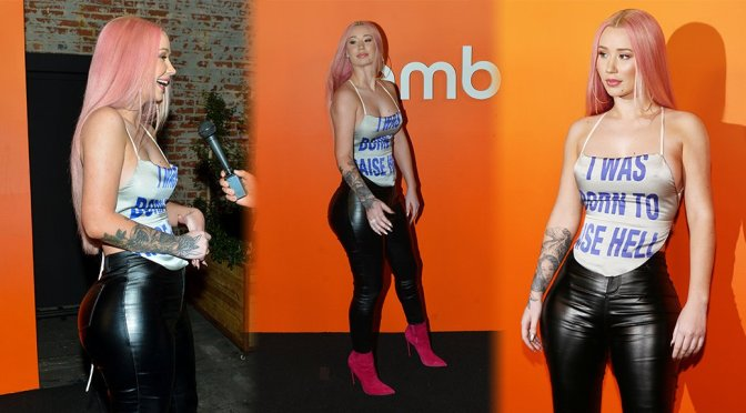 Iggy Azalea – Ember VIP Launch Party in West Hollywood