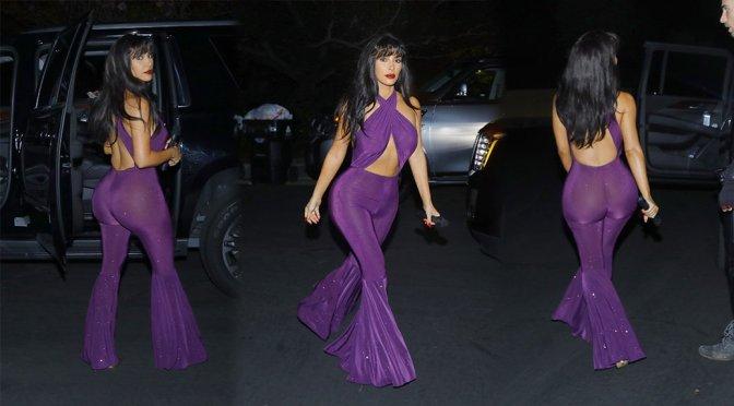 Kim Kardashian – Halloween Party in Los Angeles