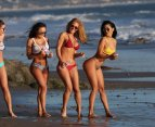 Kindly Myers, Lizzeth Acosta, Kelly Collins And Jaerah ()
