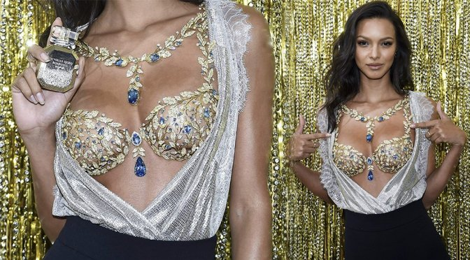 Lais Ribeiro – Victoria's Secret $2 Million Champagne Night in New York
