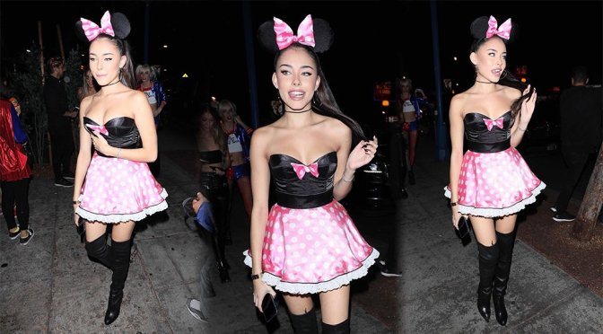 Madison Beer – Halloween Party at Delilah in West Hollywood