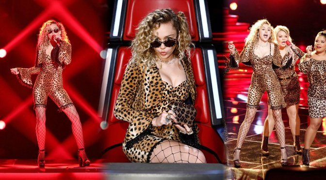 Miley Cyrus Boobs Cleavage