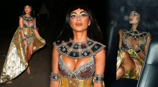 Nicole Scherzinger – Jonathan Ross's Halloween Party in London
