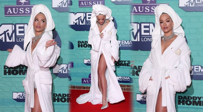 Rita Ora Panties Upskirt