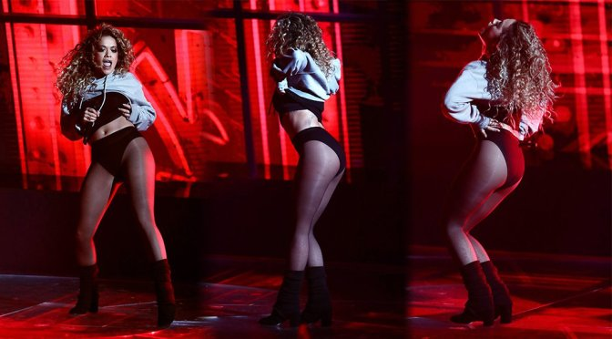 Rita Ora Performing Live on X Factor in London