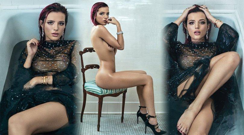 Bella Thorne Sexy Boobs