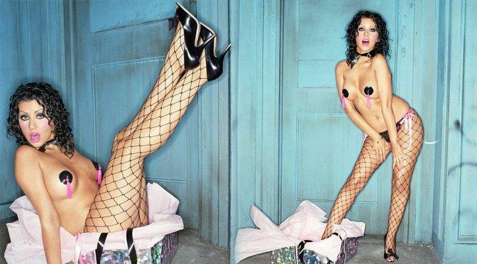 Christina Aguilera – Interview Magazine 2003 Photoshoot Outtakes
