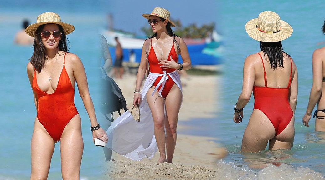 Olivia Munn - Swimsuit Candids in Hawaii