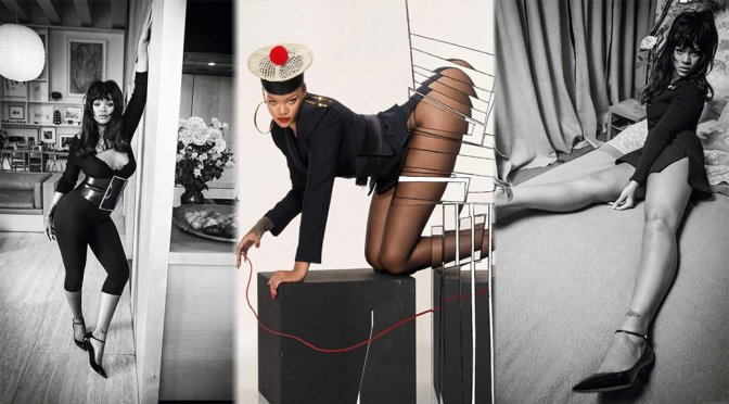Rihanna – Vogue Paris Magazine Photoshoot (December 2017)