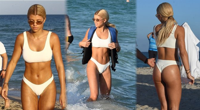 Sophie Richie Bikini Cameltoe