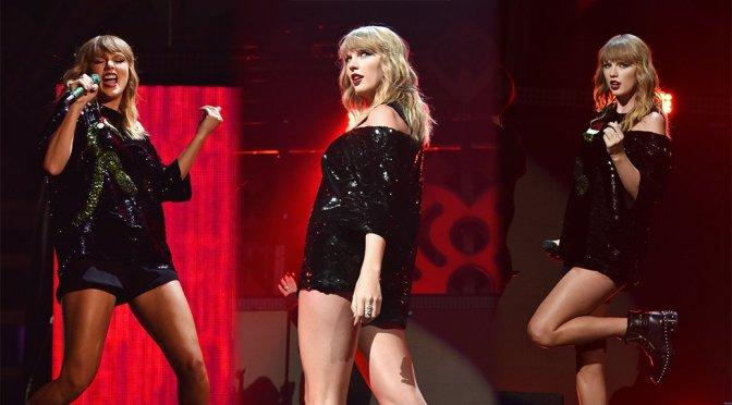 Taylor Swift – Z100's Jingle Ball 2017 in New York