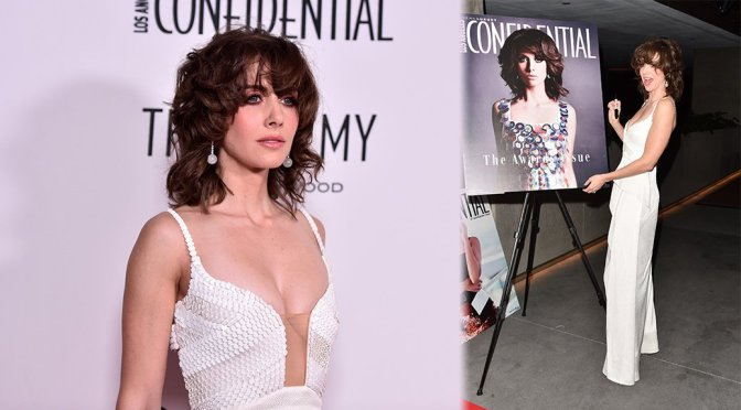 """Alison Brie – Los Angeles Confidential Celebrates """"Awards Issue"""" in West Hollywood"""