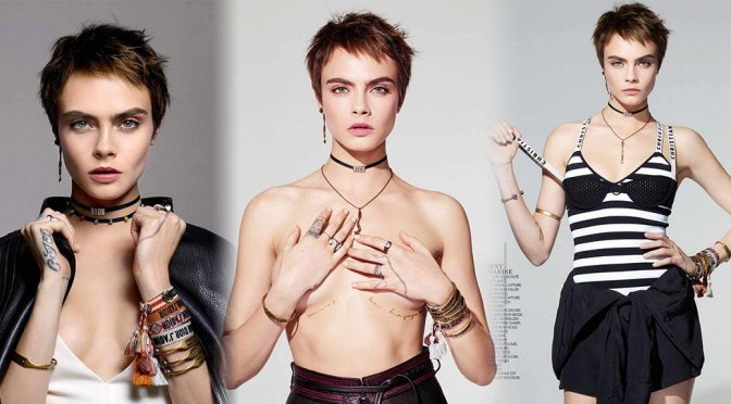 Cara Delevingne – Madame Figaro Magazine Photoshoot