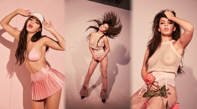 """Charli XCX – """"Number 1 Angel"""" Album Braless See-Through Photoshoot Outtakes"""