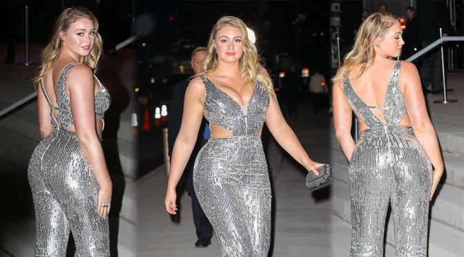 Iskra Lawrence – Candids in New York