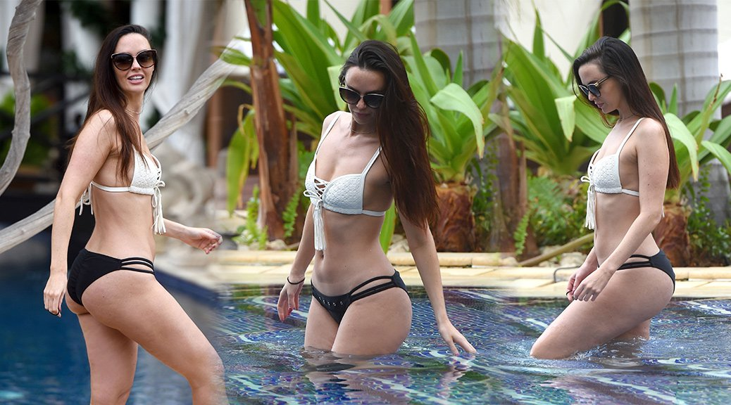 Jennifer Metcalfe - Bikini Candids in Tenerife