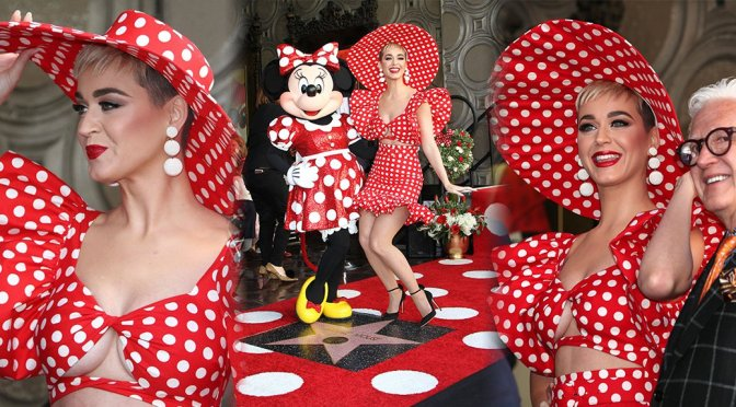 Katy Perry – Minnie Mouse Hollywood Walk of Fame Ceremony