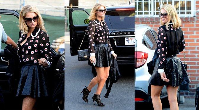 Paris Hilton – Leggy Candids in Beverly Hills