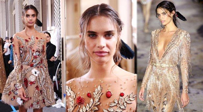 Sara Sampaio – Zuhair Murad Couture Fashion Show in Paris
