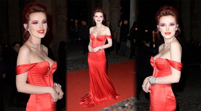 "Bella Thorne – ""Midnight Sun"" Premiere in Rome"
