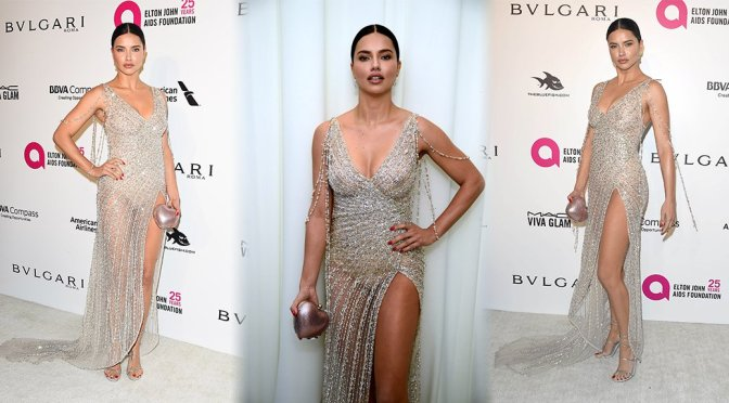 Adriana Lima – 26th Annual Elton John AIDS Foundation Oscars Viewing Party