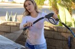 Ana Braga Wet T Shirt Photoshoot