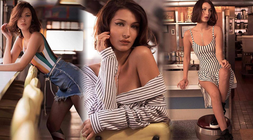 Bella Hadid - Penshoppe Spring-Summer 2018 Photoshoot