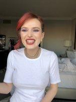 Bella Thorne Braless Boobs