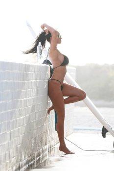 Charlie Riina Bikini Photoshoot