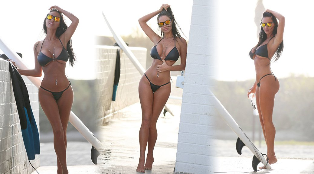 "Charlie Riina - ""138 Water"" Bikini Photoshoot in Malibu"