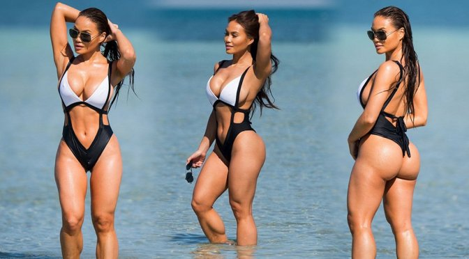 Daphne Joy – Bikini Candids in Miami