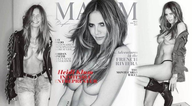Heidi Klum – Maxim Magazine Photoshoot (May/June 2018)