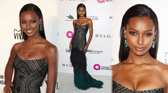 Jasmine Tookes – Elton John AIDS Foundation Academy Awards Viewing Party