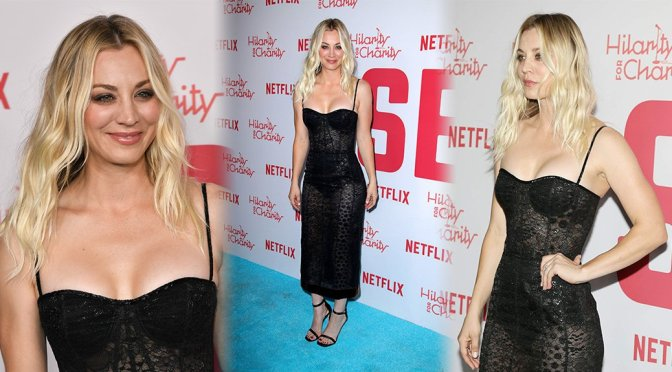 Kaley Cuoco – Hilarity for Charity Sixth Annual Variety Show in Los Angeles