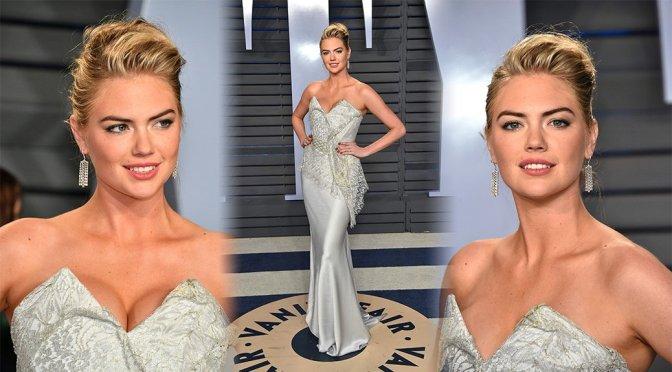 Kate Upton – 2018 Vanity Fair Oscar Party