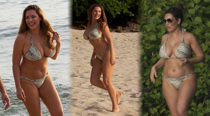 Kelly Brook Big Boobs Bikini