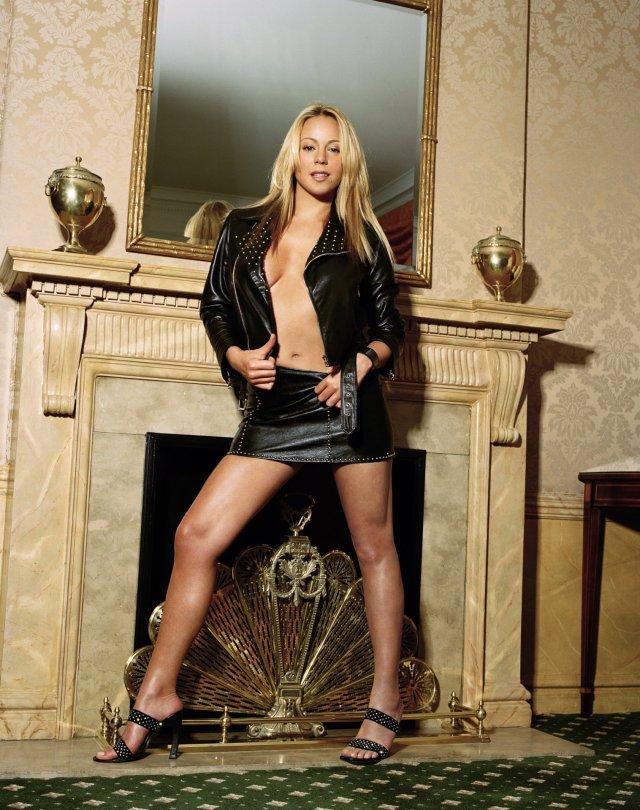Mariah Carey Movieline Photoshoot