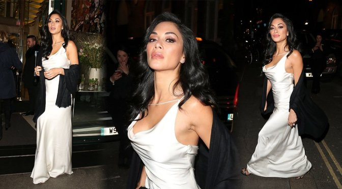 Nicole Scherzinger – Candids in London