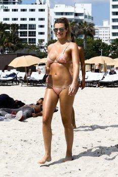 Samantha Hoopes Small Pink Bikini