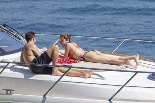 Selena Gomez Bikini Yacht Sydney