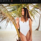 Aly Raisman White Swimsuit