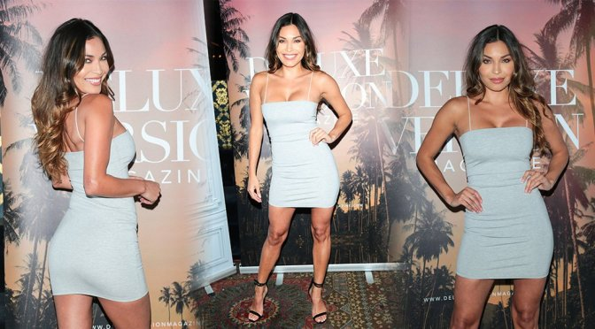 Arianny Celeste – Party for Deluxe Version 10 at Hyde Nightclub in Los Angeles